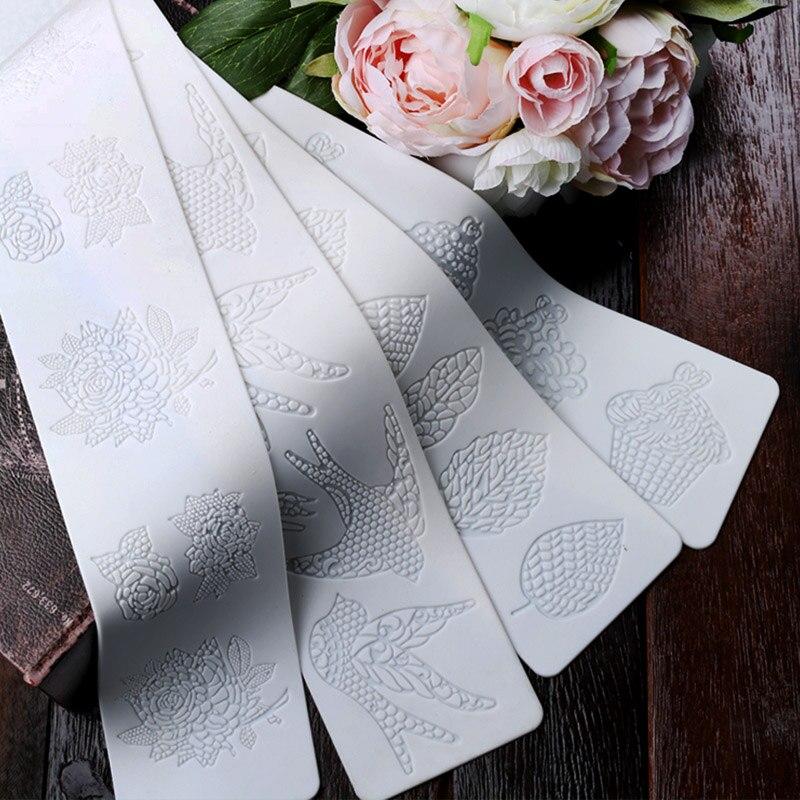 Aliexpress.com : Buy Rose Flower Leaf Silicone Mold ...