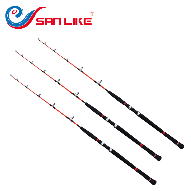 Free shipping to Russian new bass fishing rod 1.53m spining carbon fiber jigging trolling bass fishing rod saltwater sea ocean