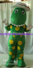 New arrival 2014 Adult dorothy dinosaur outfit carnival fancy dress costumes school mascot advertising mascot