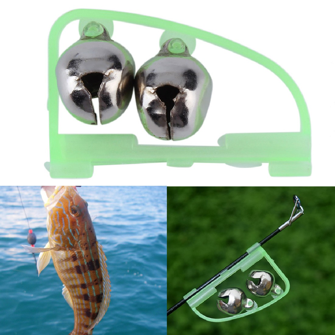 Hengjia brand 1 pc fishing accessory for Bite alert fishing pole