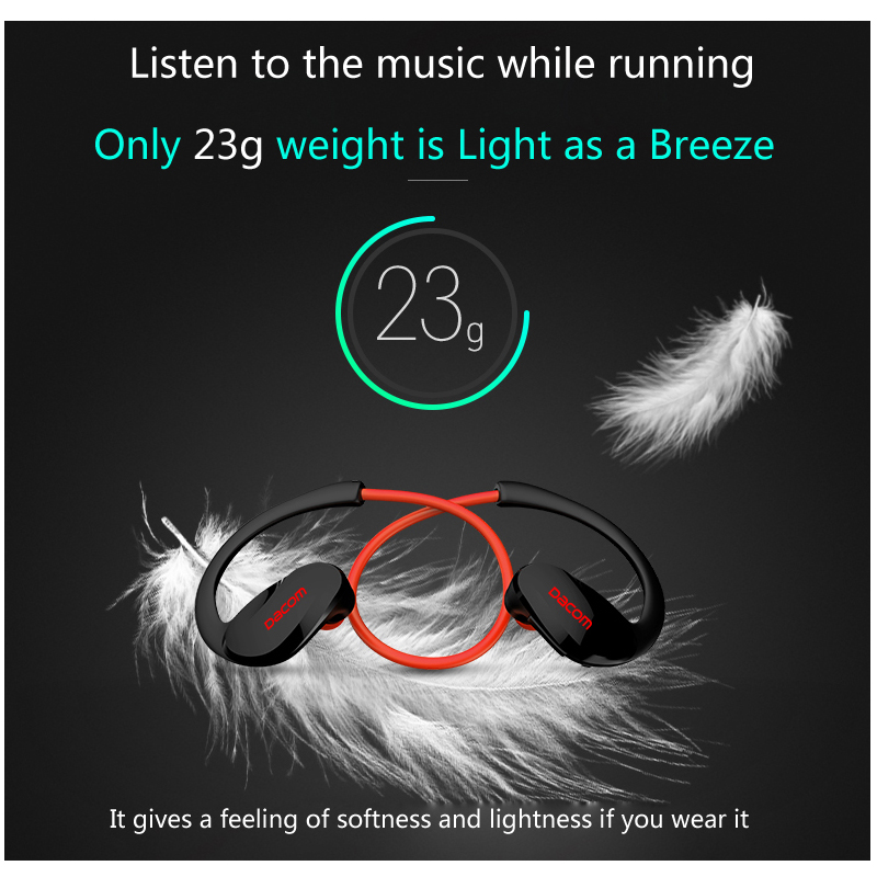 Dacom Athlete L19 Bluetooth 4.1 headset Wireless headphone sports stereo earphone with microphone For iphone for Huawei xiaomi
