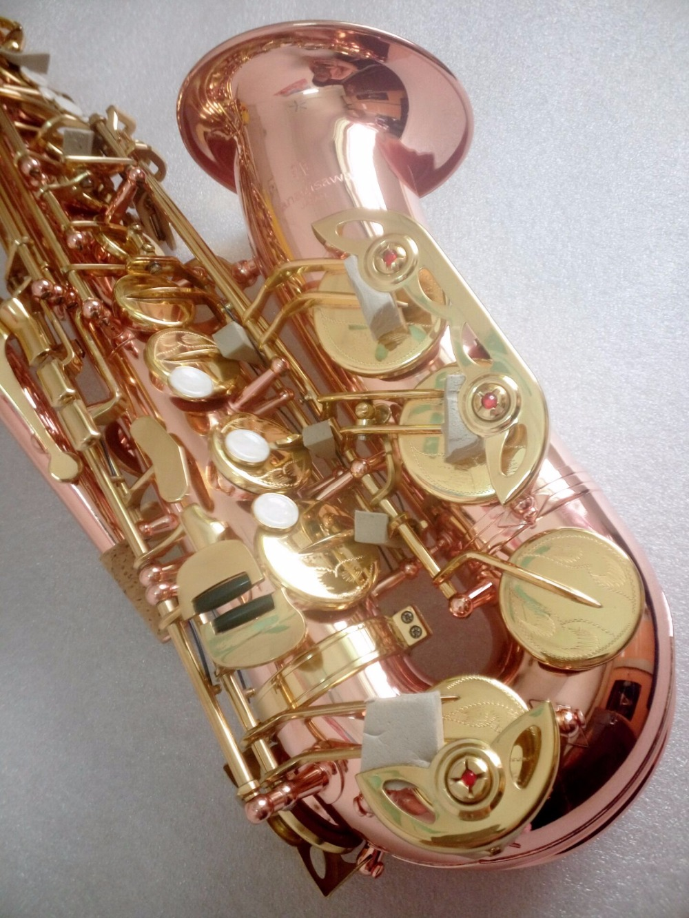 купить Japan Yanagisawa A-902 E flat Alto saxophone musical instruments High Quality plated phosphor bronze professional Sax Free по цене 22167.19 рублей