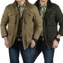 Новинка, куртка, большой размер, M-6XL/7XL/8XL, Хлопковая мужская куртка, повседневная, весна-осень, пальто, Мужская одежда, куртки