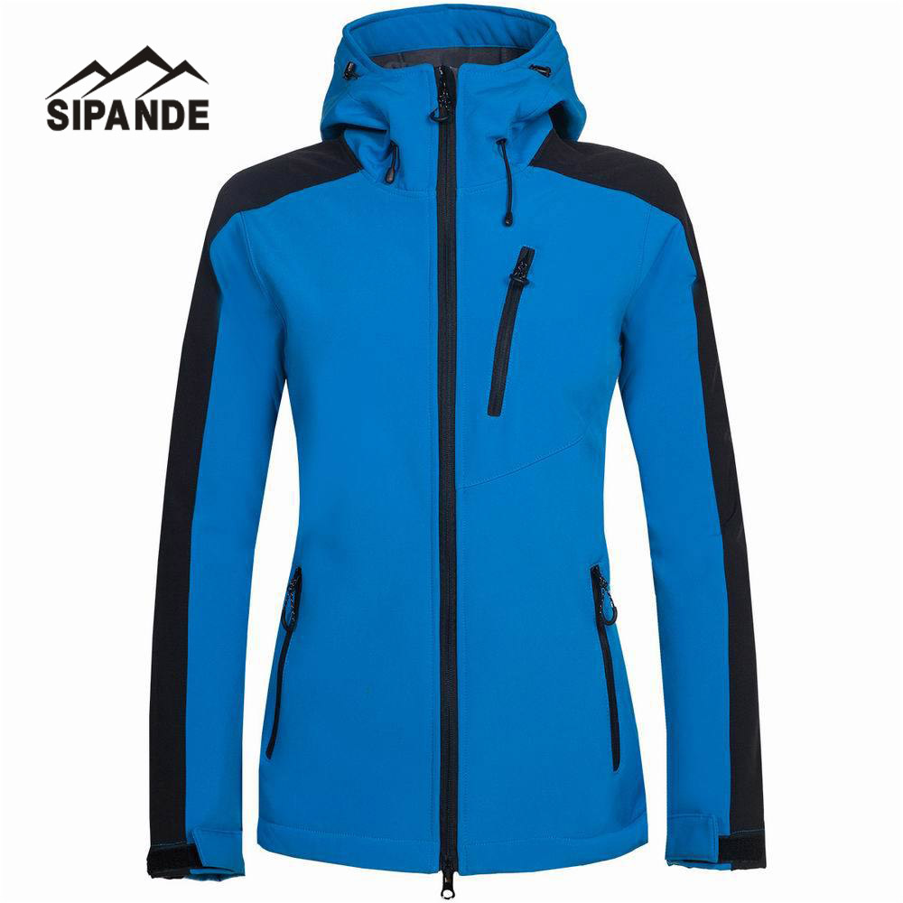 Winter Water Resistant waterproof Breathable Softshell Jacket Women Windbreaker Outdoor sport For Climing Hiking camping fishing hot sale windstopper water resistant coat 2in1 hiking winter jacket women outdoor veste breathable camping chaquetas mujer