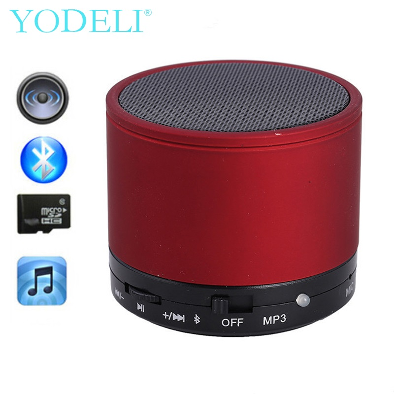 YODELI S10 Portable Bluetooth Speaker Mini Wireless Bluetooth Speakers Support TF AUX USB With Mic For iPhone Xiaomi Phone