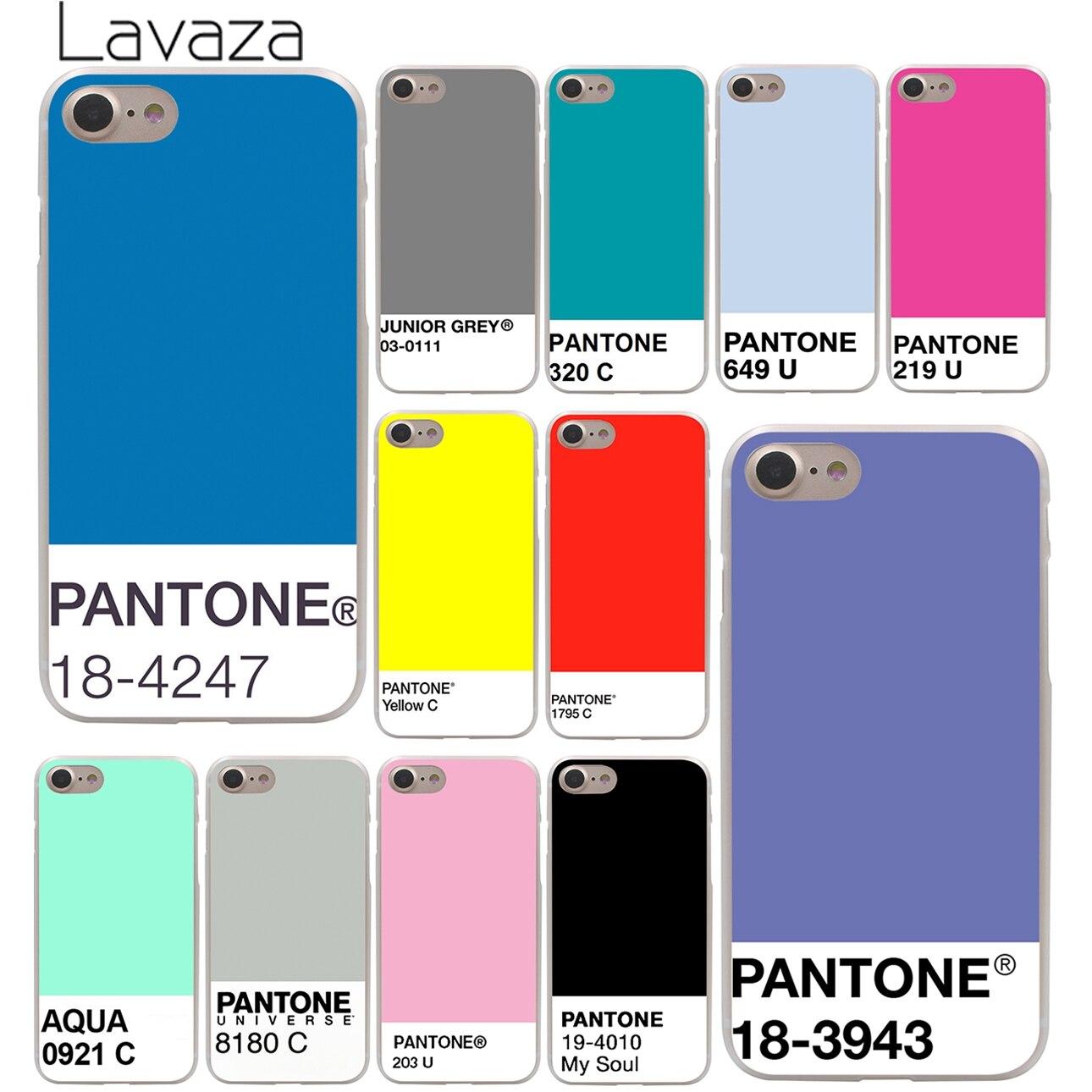Lavaza Caliente Pantone coque de téléphone rigide pour iPhone XR X XS 11 Pro Max 10 7 8 6 6S 5 5S SE 4 4S housse