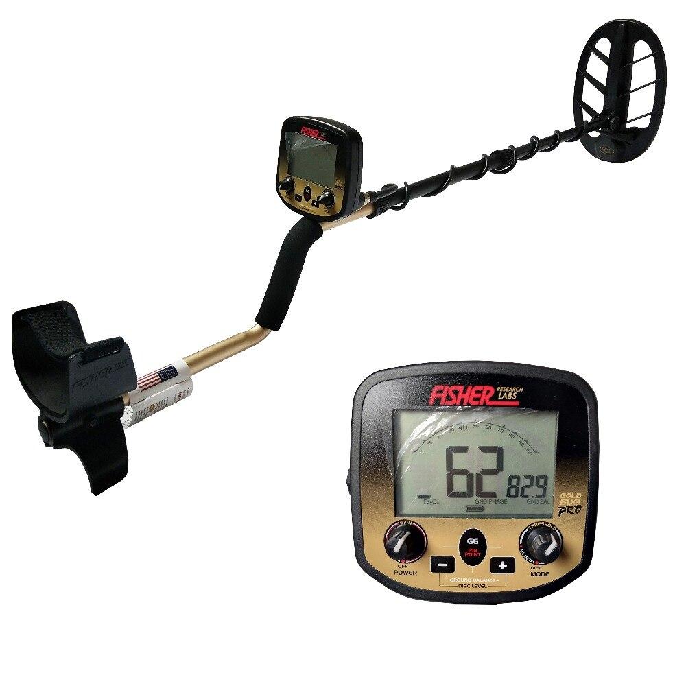 FS2 professionnel Fisher Gold Bug haute sensibilité détecteur d'or G2 détecteur de métaux souterrain détecteur d'or étanche
