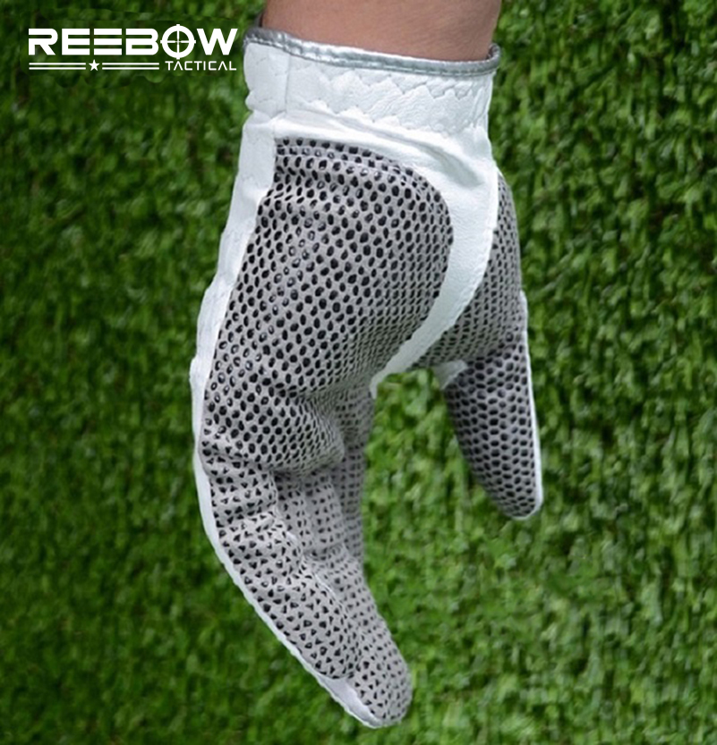 Genuine Leather Golf Gloves Soft Breathable Pure Sheepskin Men s Left Right Hand Golf Gloves Golf