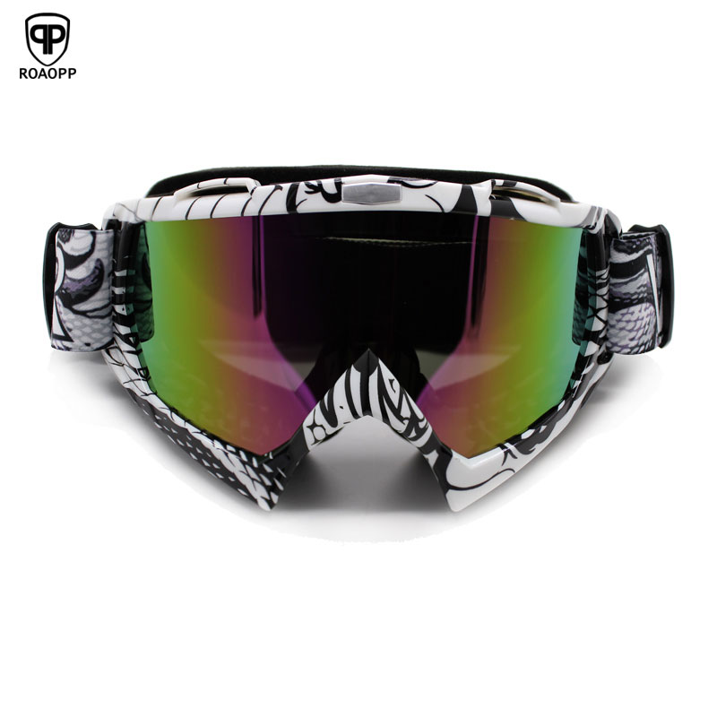 ROAOPP Man Women Gafas Motorcycle Goggles Glasses MX Off Road Dirt Bike Motorcycle Helmets Goggles Ski Sport Glasses Masque Moto feidu мода steampunk goggles sunglasses women men brand designer ретро side visor sun round glasses women gafas oculos de sol