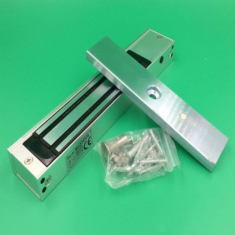 180kg 350lb holding force access control single door 12v for 12v magnetic door lock