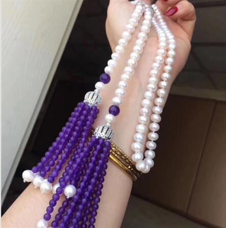 free shipping >>>>noble jewelry jewelry new style 8 mm long white pearl necklace Christmas DIY women hot sale jewelryfree shipping >>>>noble jewelry jewelry new style 8 mm long white pearl necklace Christmas DIY women hot sale jewelry