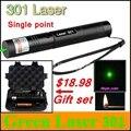 [ReadStar] RedStar 301 высокой мощности 1 Вт Красный Зеленый Лазерный комплект Лазерная указка Лазерная ручка одной точке включают 18650 аккумулятор и зарядное устройство