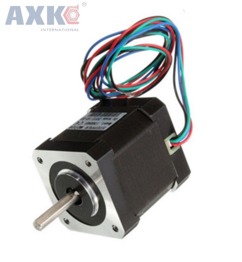 цена на AXK High torque 60 Stepper Motor 2 PHASE 4-lead NEMA24 60BYGH/6018HB2 motor 54.5MM 2.8A/4A 1.56N.M LOW NOISE motor for CNC XYZ
