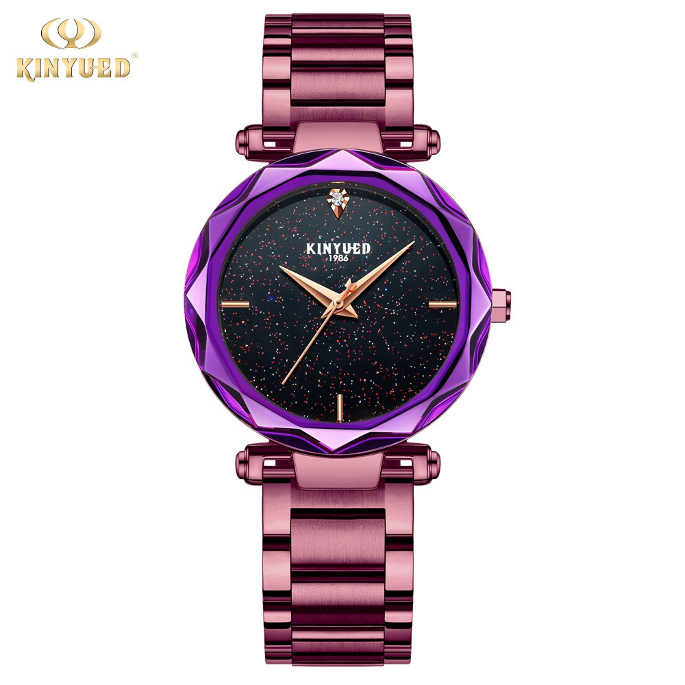 KINYUED Fashion Quartz Watch Women Watches Ladies Girls Famous Brand Wrist Watch Female Clock Montre Femme Relogio J016S-1 kinyued fashion quartz watch women watches ladies girls famous brand wrist watch female clock montre femme relogio j016s 1