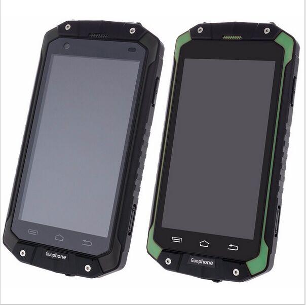 2018 Nouveau GuoPhone V9 V19 Téléphone Avec IP68 MTK6580 Android 5.1 3G GPS 2 GB + 16 GB 4.5 pouces Écran Antichoc Étanche Téléphone Intelligent