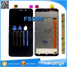 Для Fly Nimbus 9 FS509 FS 509 ЖК-дисплей Экран Дисплей с Сенсорный экран сборки