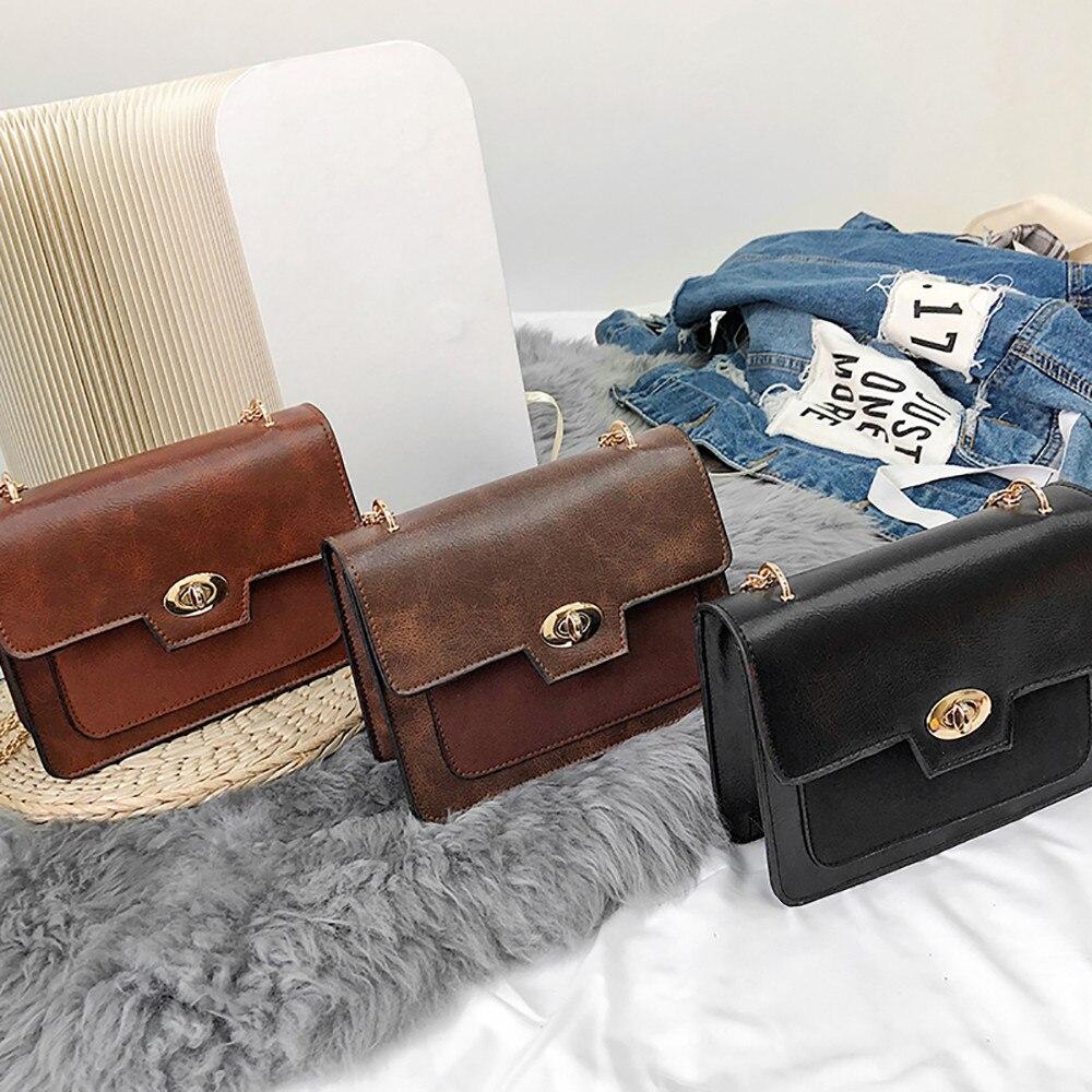 9abc96628ecb Сумки на плечо sac bandoulire женские кожаные сумки женские винтажные сумка  мессенджер на цепочке на одно