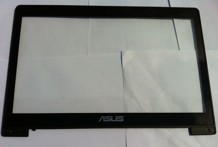 For 14 ASUS VivoBook S400 S400CA Touch Screen Panel Digitizer Glass Lens Sensor with frame TCP14F21 V1.0 version free shipping