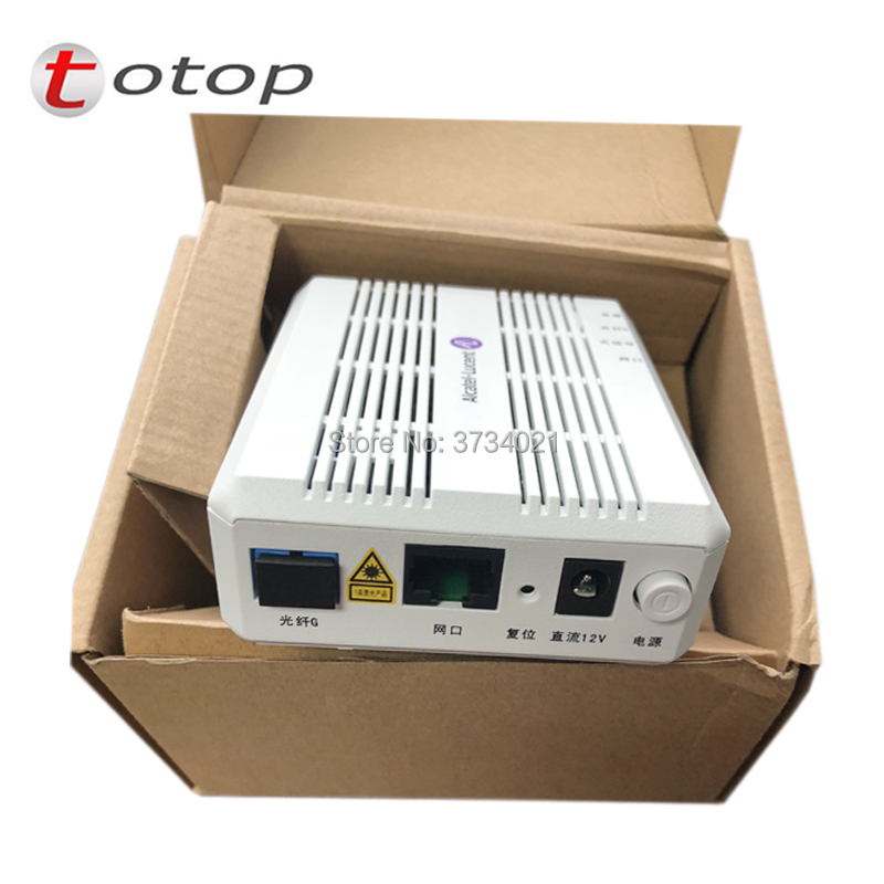 NEW English Version Alcatel Lucent I-010G GPON ONU/ONT Optical Network Terminal FTTH ONT 1 GE Port