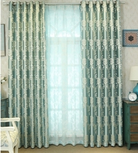 The European style sculpture curtain cloth custom bedroom windows shading products