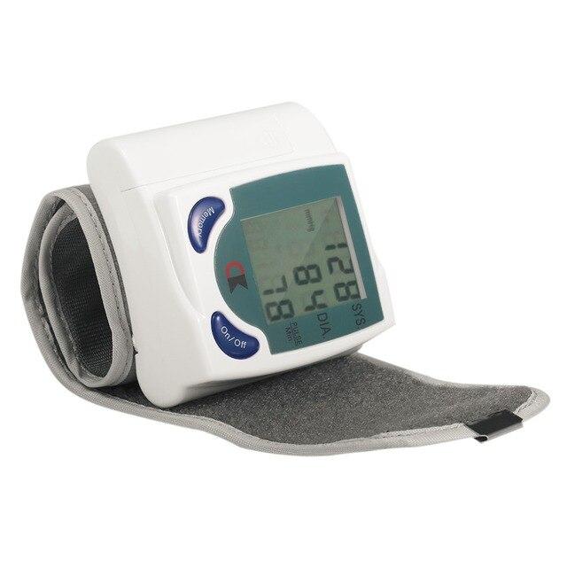 Home Automatic Wrist Digital Lcd Blood Pressure Monitor Portable Tonometer Meter For Blood Pressure Meter Oximetro De Dedo 1