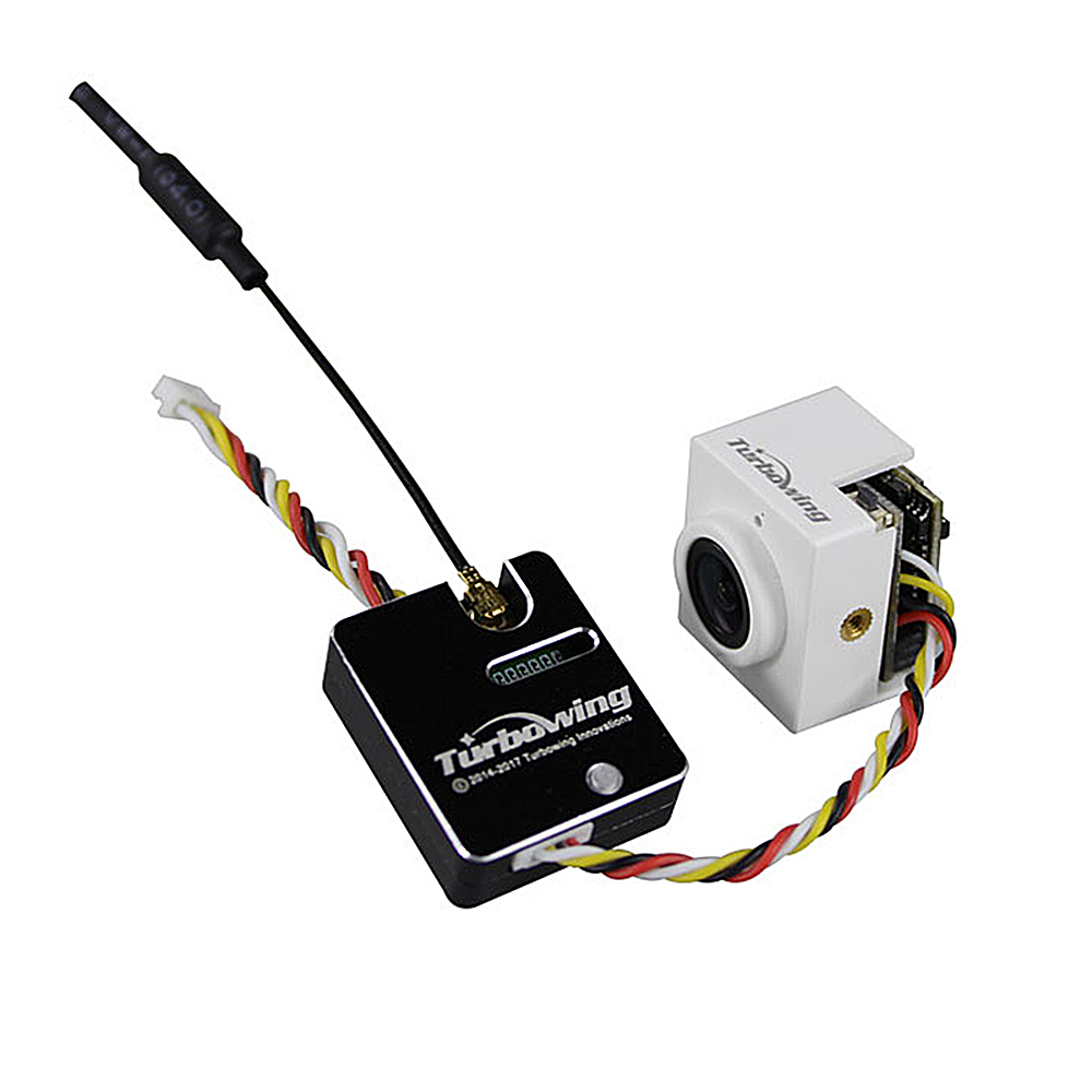 TURBOWING TX1769 5.8G 25/200mW Video Transmitter Module + CYCLOPS V3 TV17621 720