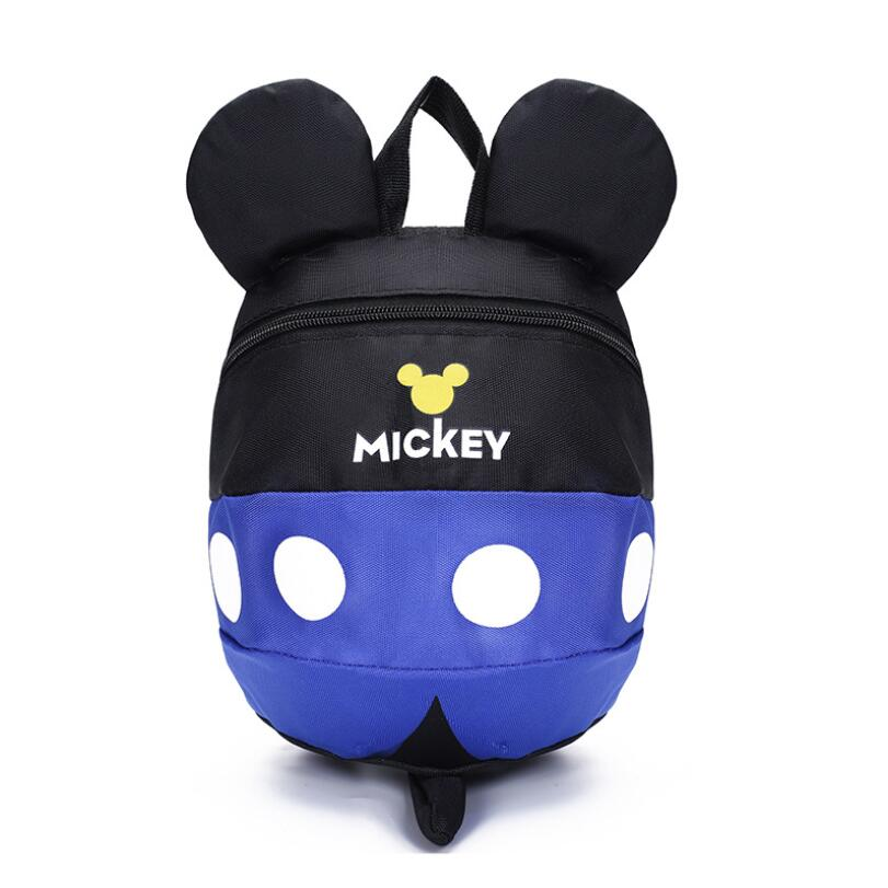 Cartoon Minnie Mickey Children Backpacks Kids kindergarten Anti-lost Backpack Baby School Bags Satchel for Boys and Girls 4