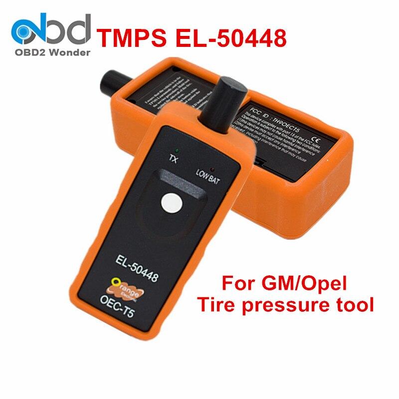 Prix pour Nouvelle Arrivée EL-50448 TPMS Activation Outil EL50448 Pneu Pression Monition Capteur OEC-T5 Pour SPX GM Automobile Outil