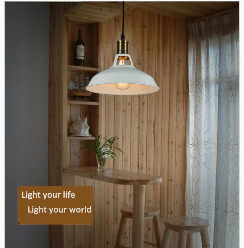 New Modern Black /White Cover Pendant Lights E27 Lamp Holder For Living Room Dining room Handing Lamp Hanging Ceiling luminaire white black new
