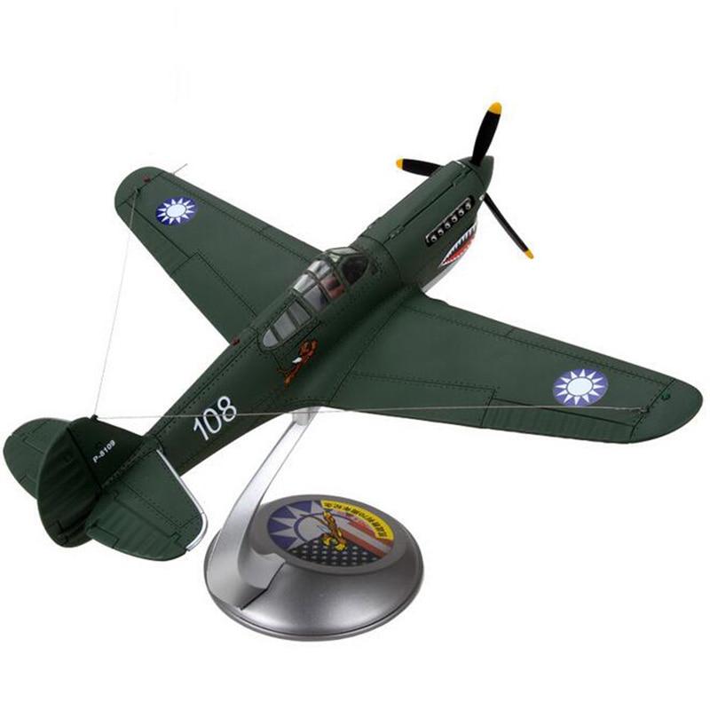 1/32 مقياس الحرب العالمية الثانية البحرية الجيش الأمريكية USA P40 P 40 تحلق النمر طائرة نماذج الكبار ألعاب أطفال للعرض تظهر مجموعات-في سيارات لعبة ومجسمات معدنية من الألعاب والهوايات على  مجموعة 2