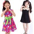 Adolescentes Vestido De Flores de renda Da Criança Meninas Verão Princesa Vestidos de Algodão Crianças Traje Crianças Grandes Roupas de 2017 Anos 10 12 Anos