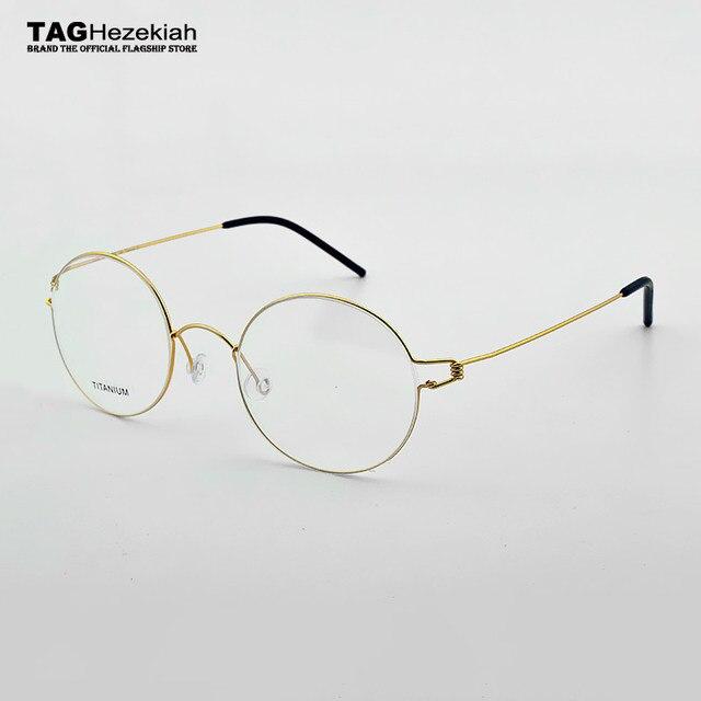 2018 nouvelle marque TAG lunettes cadres femmes Main-fait D affaires de  mode souper léger lunettes cadre hommes myopie oculos de grau nerd b558b0459a19