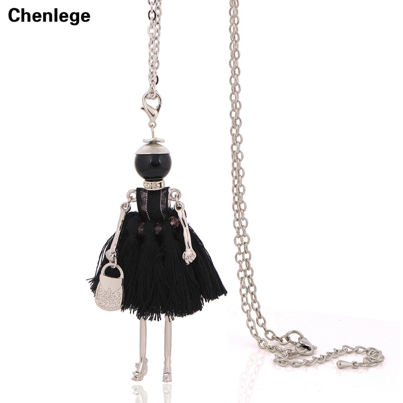 fashion necklaces for women new jewelry pendant maxi charm female long chains necklaces big chokers 2019 statement wholesale