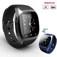 Bluetooth Smartwatch Tragbare Geräte Smartwatch Mit Zifferblatt SMS Erinnern Frauen Uhr Männer Armbanduhr Für Android Samsung Smartphone