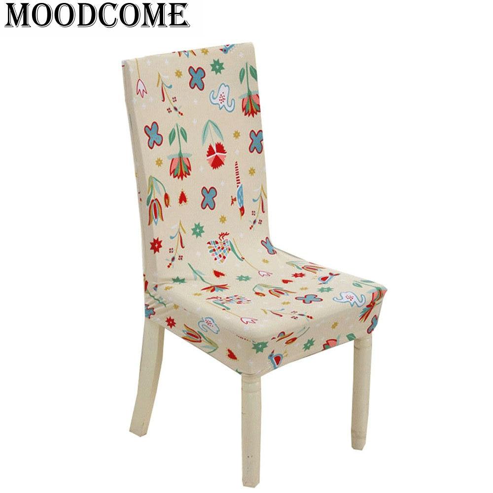 Nuova sala da pranzo Spandex chaircover albergo ufficio stampa del fumetto coprisedia stretch chair covers