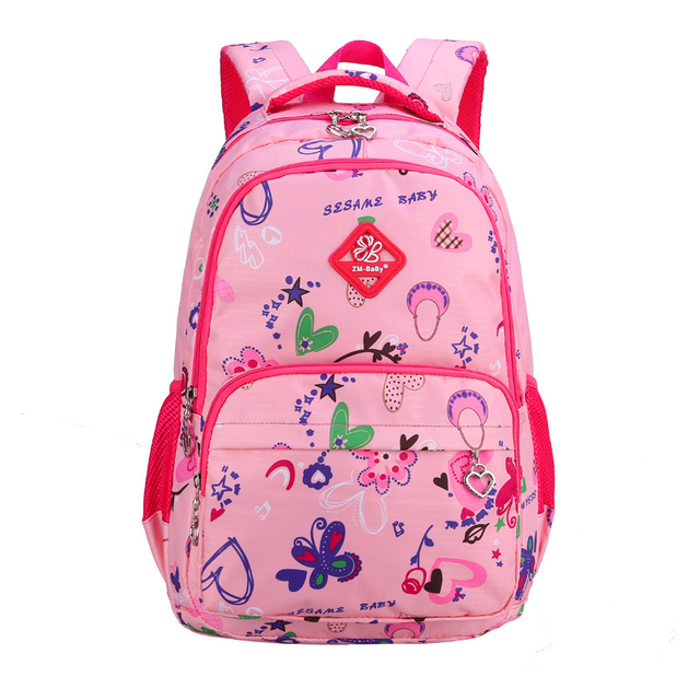 School Bags For Girls  Children  Floral Schoolbag Casual Children Bookbag Cute Backpack  Retail