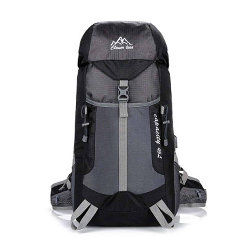 Ultra Light Usb Rechargeable Sports Backpack Hiking Outdoor Mountaineering Bag Waterproof Nylon Big Travel Laptop Bag Leisure