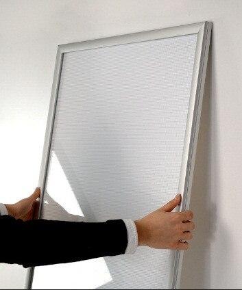 Алюминиевая СВЕТОДИОДНАЯ Рамка Тонкий световой короб для рекламы