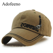 Adofeeno野球キャップ男性snapbackキャップ女性綿gorras綿調節可能なカジュアル帽子