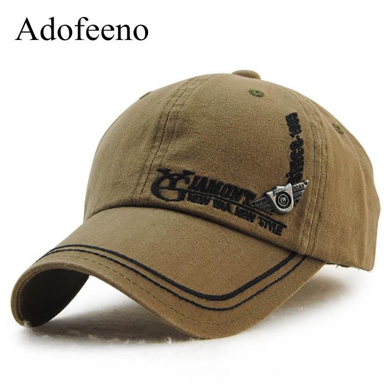 Adofeeno Baseball Cap Männer Snapback Caps Frauen Cotton Gorras - Bekleidungszubehör - Foto 1