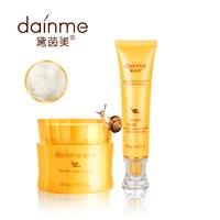 Daiyimei 24 K or VC escargot Essence soins de la peau mis hydratant blanchissant crème pour le visage 50 g + cernes sérum crème 35 g 2 pcs/set