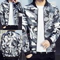 New Casual Spliced cotton Mens Clothing Army Jacket male  Camouflage Jackets Coats Military Camo Jacket Young men M-3XL