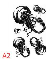 Tatuagens Temporárias tatuagem temporária À prova d' Tamanho : 105 * 60mm
