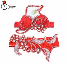 Stage Performance Belly Dancing Egyptian Costumes Rhinestone Bra Belt Belly Dance women's costume for oriental dances new arrival 2017 belly dancing oriental dance costumes performance 3pcs bead set bra belt skirt belly dance costume set