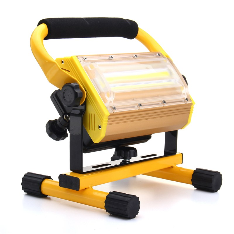 COB LED Flood Light Dimmable 100W Portable LED Floodlight Cordless Work Light Rechargeable Spot Outdoor Working Camping Lamp cob led flood light dimmable 100w portable led floodlight cordless work light rechargeable spot outdoor working camping lamp