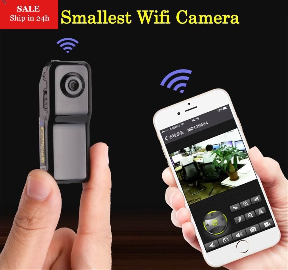 Smarcent MD81S Mini Macchina Fotografica del IP di Wifi P2P Wireless Camera Registrazione Segreta CCTV Android iOS Nanny Camcorder Video Espia Candid