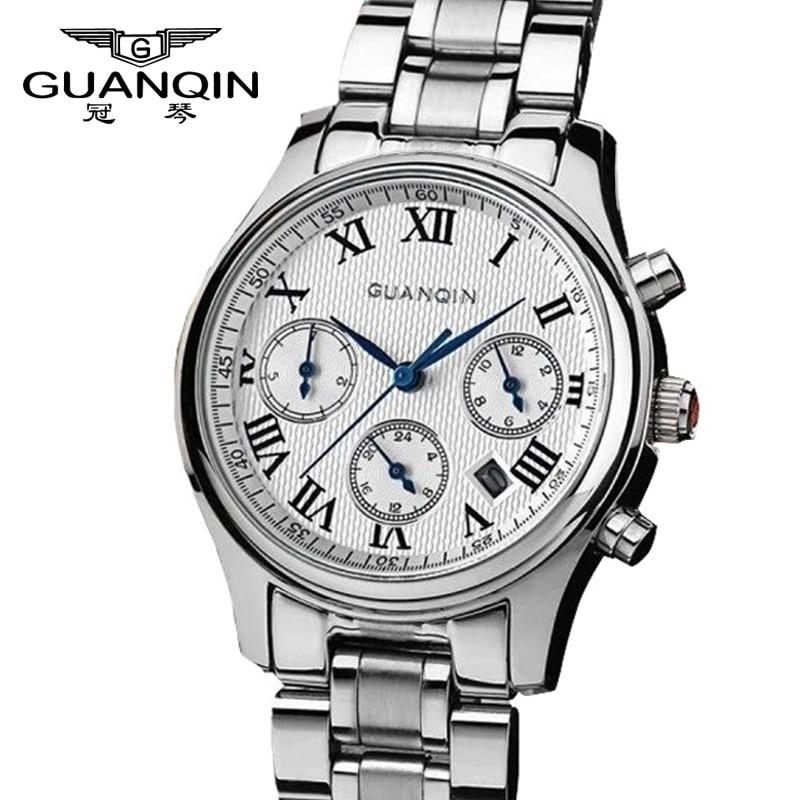 Toppar Luxury Brand GUANQIN Klockor Kvinnor Quartz Klockor Kvinnlig - Damklockor