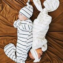 Уютная детская кроватка для младенца спальный мешок обертывание пеленать банный халат Блестящий Модный удобный