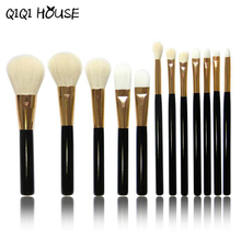 12 pcs Professional Makeup Brush Set Brush Kabuki Brush Eye kabuki Makeup Brush Set #3546