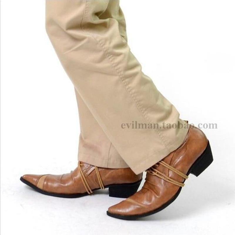 Hombre Pista As Cortinas Vinculación Calidad Superior Marca Vestir Formal Moda De Cuero Boda Pic as Oxfords Encaje Zapatos Vaquero Hasta Genuino Traje Marrón Pic v5FwqRac